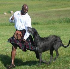 ... for the 2010 Scottish Deerhound Club of America Men in Kilts Calendar