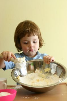 Toddler to Preschool Activities - Creating Cooking Lesson Plans for Toddlers and Preschoolers