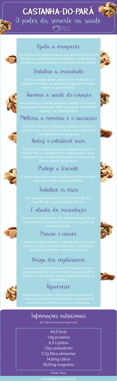 Castanha-do-pará: o poder da semente na saúde - Blog da Mimis #castanha-do-pará #castanha #castanha-do-brasil #oleaginosa #semente #alimentação #dieta #emagrecer #dica