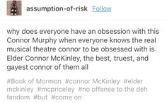 There's no better Connor than Connor McKinley.
