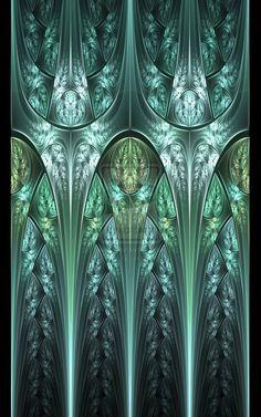 Green glass by *Fiery-Fire on deviantART