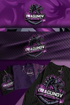 This is a dragon mascot logo that can be applied on sports gear and esports. It can be modified for alternative colors and different text feel free to check. Game Logo Design, Esports Logo, Cool Logo, Logos, Fashion, Moda, La Mode, Fasion, Fashion Models