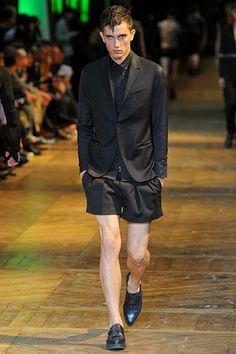 Thierry Mugler Spring 2012 Menswear