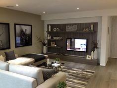 Modern tv unit shelf