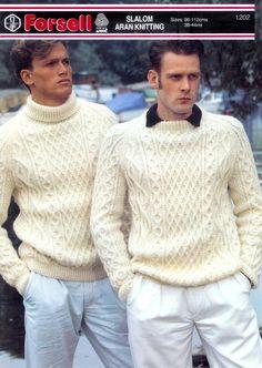 Mens aran wool fashion knitwear | Flickr - Photo Sharing!
