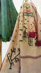 As you search for your next crochet project, consider something different. This Chinese Screen Afghan is refreshing and fun; it's just the free crochet afghan pattern you're looking for.