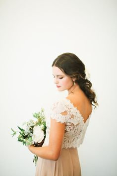 Bride in Mauve | photography by http://adriennegunde.com/