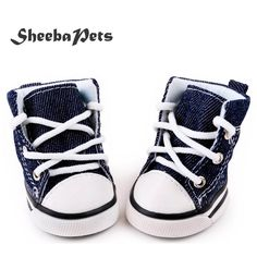 New Arrival 4pcs Blue Puppy Pet Dog Denim Shoes     Tag a friend who would love this!     FREE Shipping Worldwide     Buy one here---> https://sheebapets.com/new-arrival-4pcslot-blue-puppy-pet-dog-denim-shoes-sport-casual-anti-slip-boots-sneaker-shoes-for-chihuahau-freeshipping/