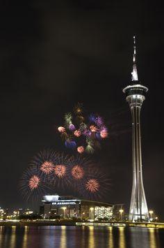 Firework in Macau