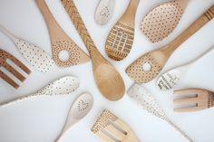 Cucharas de madera DIY - Los 5 mejores regalos navideños DIY para la casa
