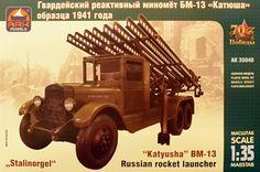 1/35 BM-13 'Katyusha' Russian rocket launcher