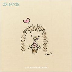 Ice Cream Cone Hedgie
