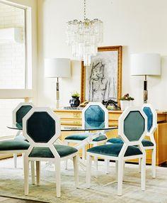 Tour a Designer's Insanely Glam Dallas Home via @MyDomaine