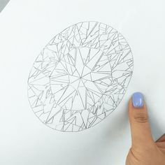 Next drawing... THIS WILL BE MY FIRST TIME PAINTING AN OVAL!! Can't wait to start this canvas for @forevermarkdiamonds!  #diamondpainter #drawing #blacklabelcollection