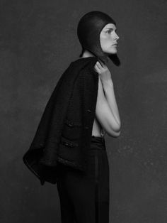 STELLA TENNANT in The Little Black Jacket by Karl Lagerfeld. Chanel