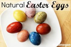 How to dye Easter eggs naturally -Momo