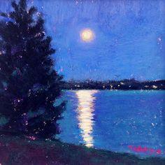 Night Lights by Takeyce Walter