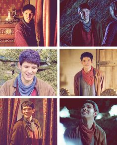 I think we have too many pictures of Merlin crying, so here are some of him smiling :)