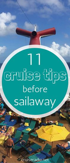 11 Cruise Tips Before Sail Away