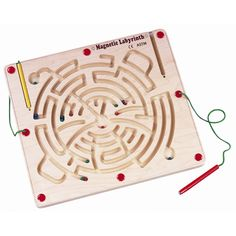 All children are different and enjoy different things. If your toddler needs a more challenging puzzle the labyrinth is the wooden puzzle for you