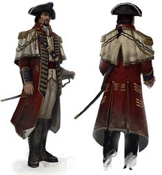 Matthew Davenport, The Commander - Characters & Art - Assassin's Creed III
