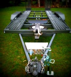 Brian's Flatbed Trailer - Built from our plans - www.trailerplans.com.au