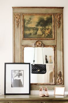 Love this frame and mirror!