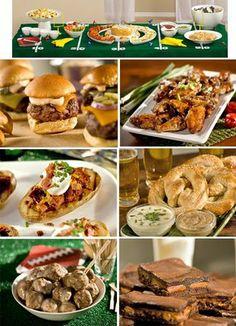 Cute Super Bowl Food