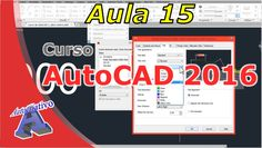Curso de AutoCAD 2016 – Estilos de Cotas – Aula 15 – Autocriativo