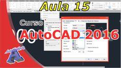 Curso de AutoCAD 2016 – Estilos de Cotas – Aula 15 – Autocriativo Autocad 2016, Classroom