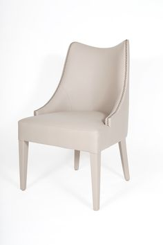 Becomes Me chair | A truly feminine, soft and pleasant dining chair that sets out to be like a second skin.  In a never ending seduction, the Becomes Me's shape delicately embraces its owner.