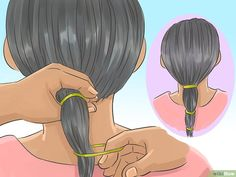 How to Cut Hair Straight. Cutting hair straight is simple, but there are a few bad habits that can create gradations and prevent that neat, blunt, straight-across cut. Cutting your own hair can seem exciting, but you are also more likely. Cut Own Hair, How To Cut Your Own Hair, Your Hair, Girls Hairdos, Mom Hairstyles, Straight Hairstyles, Haircuts, Hair Cutting Techniques, Diy Haircut