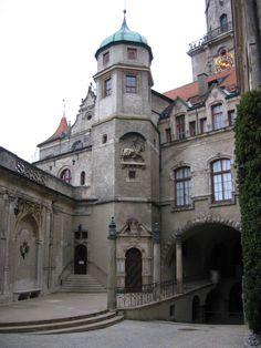 Schloss Sigmaringen, Germany - Inner courtyard