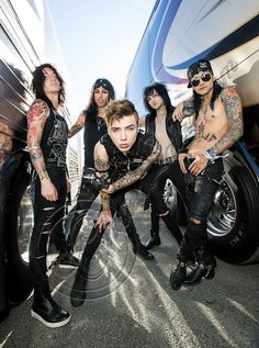 I got to see Black Veil Brides again at Warped! I love them sooo much! I made eye contact with Andy and it was the best thing ever. I can't wait to see them again!