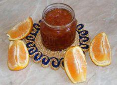 Dulceata de portocale Hot Sauce Bottles, Gem, Pudding, Canning, Desserts, Drinks, Food, Flan, Postres