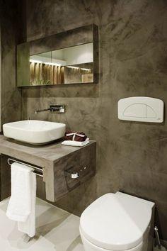 New Ideas Bathroom Marble Mirror Interior Design Bathroom Interior, Modern Bathroom, Small Bathroom, Design Bathroom, Modern Wall, Bathroom Ideas, Bad Inspiration, Bathroom Inspiration, Corner Toilet