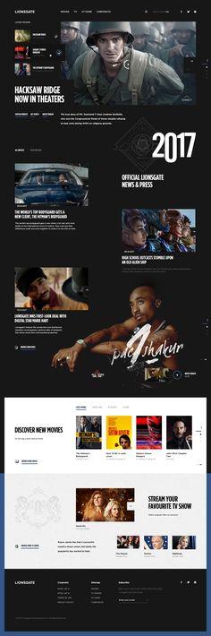 Lionsgate homepage