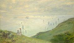 Claude Monet, 'Cliffs at Pourville,' 1882, National Gallery of Art, Washington D.C.