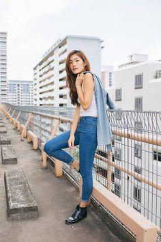 675af008149 Amanda Olivia L. - Wardrobe Mess High Waist Denim Jeans