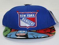 "Strapback Saturdays: NHL x SUNKEN BOOTY ""NY Rangers Custom"" Cap. Want!"