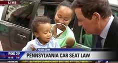The Funniest Tiny Toddler Temper Tantrum On Live Television. Hilarious!