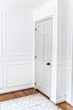 Interior House Doors - Decoration Home Interior Door Colors, Grey Interior Doors, Painted Interior Doors, Door Paint Colors, Grey Doors, Painted Doors, Best Interior, Scandinavian Interior Doors, Painted Bedroom Doors