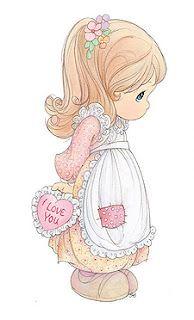 Clip Art - PM - Valentine I love you.