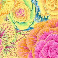 Philip Jacobs Fabric, Brassica Yellow