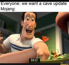 Hilarious Minecraft Memes & Minecraft meme Funny so true Really Funny Memes, Stupid Funny Memes, Funny Relatable Memes, Hilarious, Funny Stuff, Relatable Posts, Funny Gifs, Funny Images, Funny Pictures