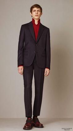 Alexander McQueen Pre Fall Winter 2015 Invierno #Trends #Menswear #Moda Hombre #Tendencias  M.F.T.