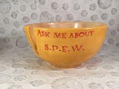 Spew Harry potter yarn bowl