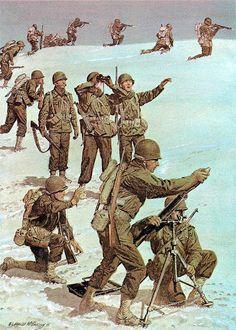 1945_Brazilian Army, 6th Regimental Combat Team, Brazilian Expeditionary Force, Monte Castello, Italy