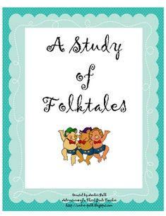This is a folktale booklet for your students to use with a study of folktale.  Includes graphic organizers for fairy tales, myths, legends, tall ta...