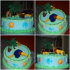Within the Kitchen: Gymnastics, Princess, Castle and Jungle Cakes!